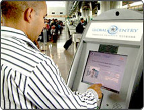 Mexicas can use the North American Border Pass if they have a biometric ID card. No ID cards needed when the North American Perimeter is complete.