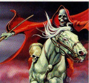 The rider on a pale horse